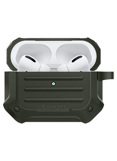 Spigen AirPods Pro. Kulaklık Kılıfı, Tough Armor Yeşil
